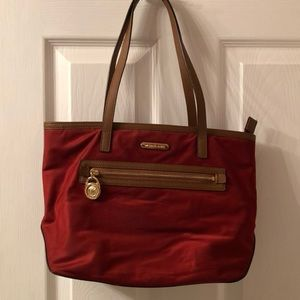 Red Michael Kors Purse